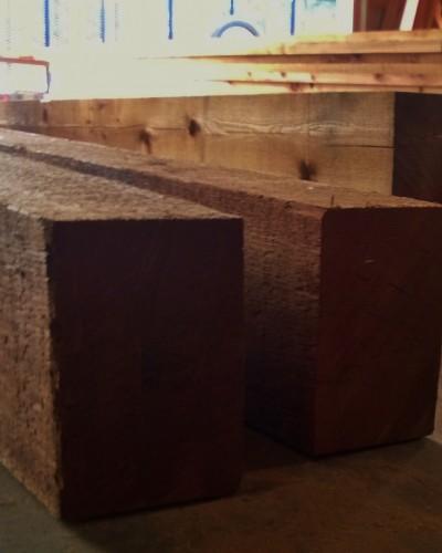 Cedar Pergola Timbers