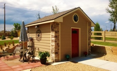 10x12 Cottage Shed
