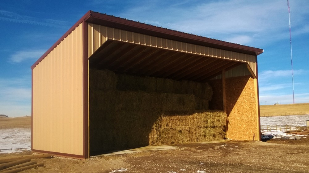 Hay barn for Hay pole barns