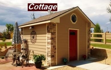 10x12 Cottage
