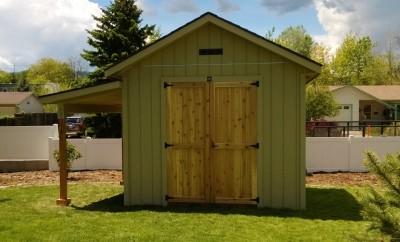 Fort Collins storage shed