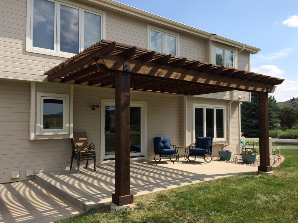 Pergola - Partial Shade & Privacy Enclosure