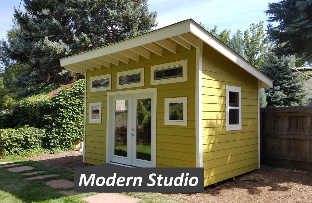 Modern Shed Esh Construction Custom Gazebos Decks