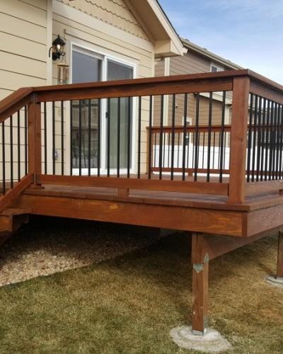 Fort Collins deck