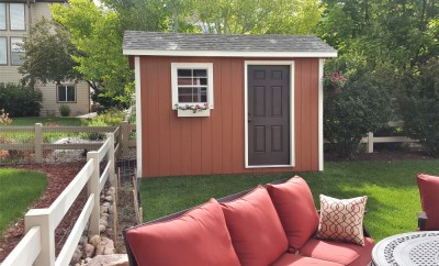 cottage shed built in CO